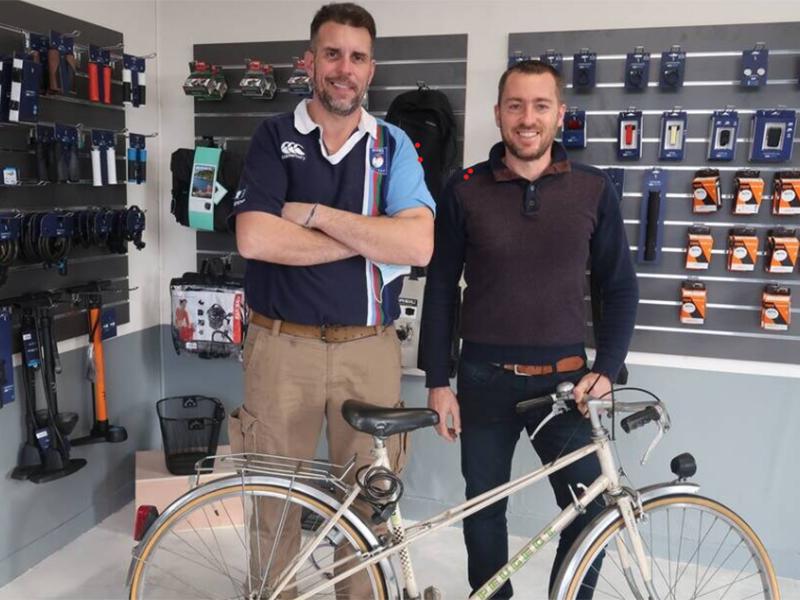 réparateur de vélo saumur